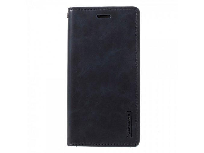 Pouzdro / kryt pro iPhone XS / X - Mercury, Bluemoon Flip NAVY