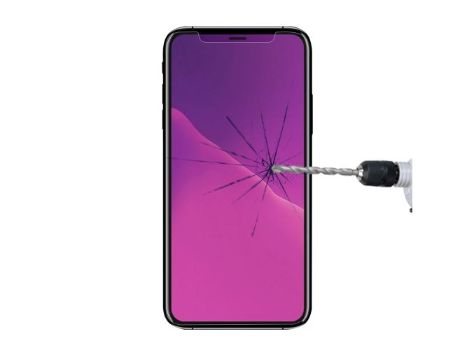 Ochranné tvrzené sklo pro iPhone XS / X - Mercury, Premium Glass