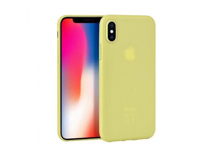Ochranný kryt pro iPhone X - HOCO, Suya Yellow