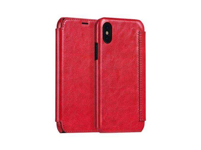 Ochranný kryt / pouzdro pro iPhone X - HOCO, Crystal Red