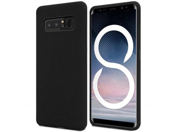 Pouzdro / kryt pro Samsung Galaxy NOTE 8 - Mercury, Soft Feeling Black