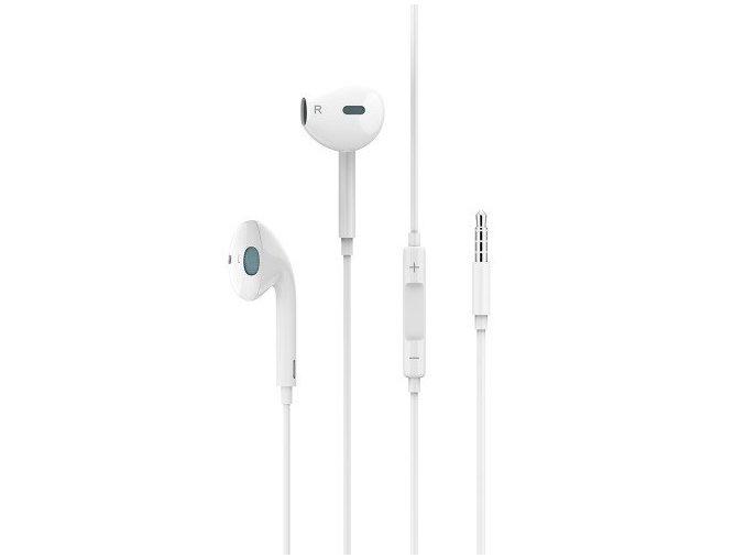 Sluchátka pro iPhone a iPad - USAMS, EP-22 White