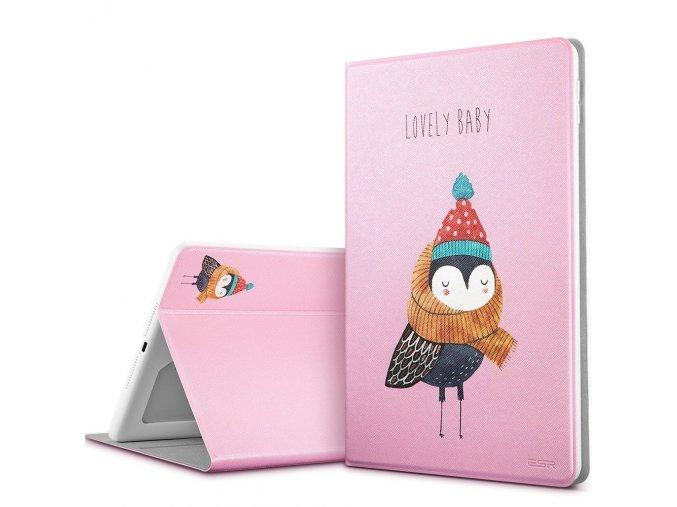 Pouzdro / kryt pro iPad 2017 / 2018 - ESR, ILLUSDESIGN LOVELY OWL