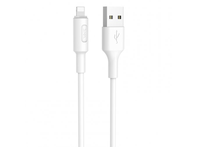 Kabel lightning pro iPhone a iPad - Hoco, X25 Soarer White
