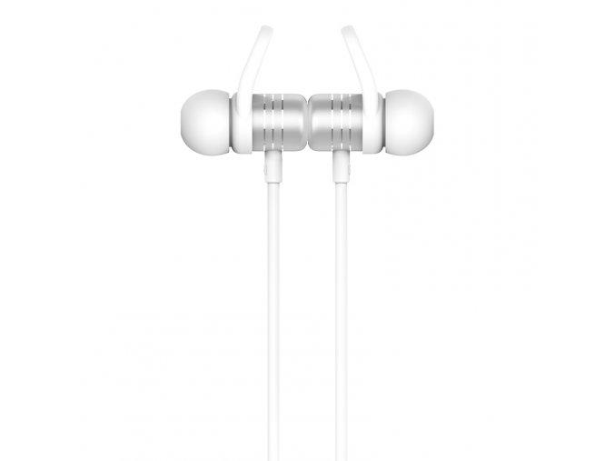 Sportovní bezdrátová sluchátka pro iPhone a iPad - Hoco, ES14 BreathingSound Silver