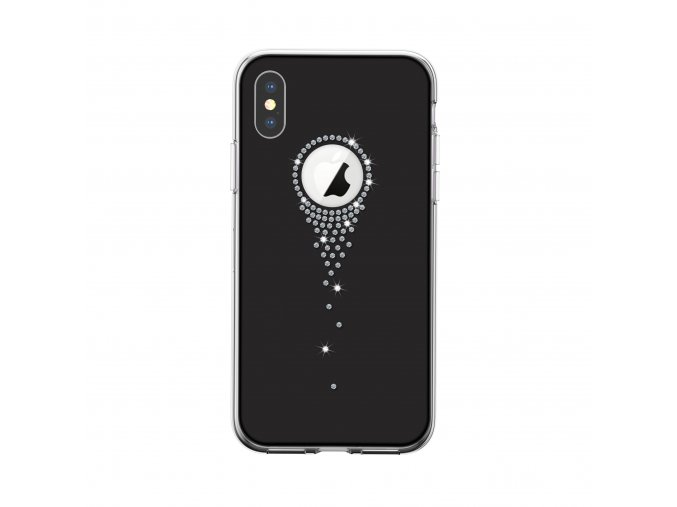 Ochranný kryt pro iPhone XS / X - Comma, AngelTears Black