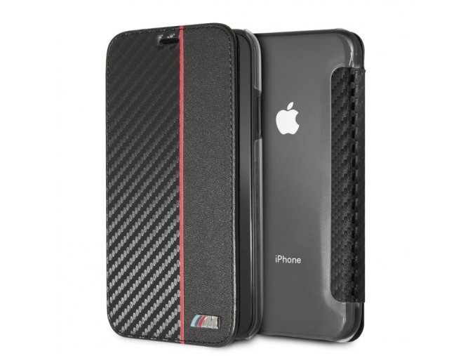 Ochranný kryt pro iPhone XR - BMW, Carbon Book Red