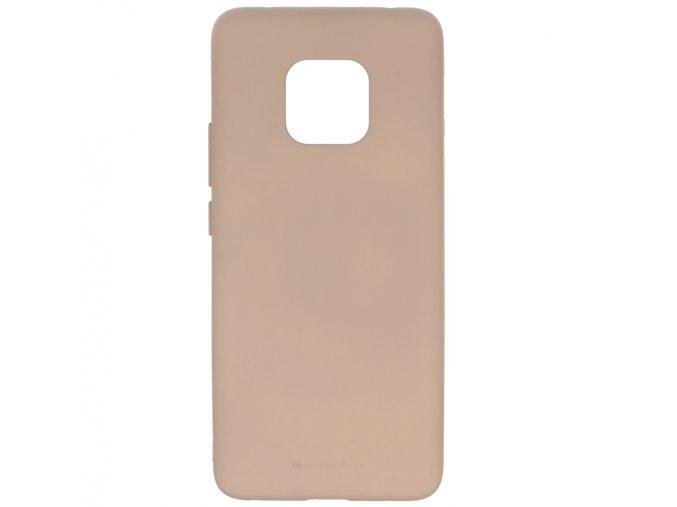 Pouzdro / kryt pro Huawei Mate 20 PRO - Mercury, Soft Feeling Pink Sand