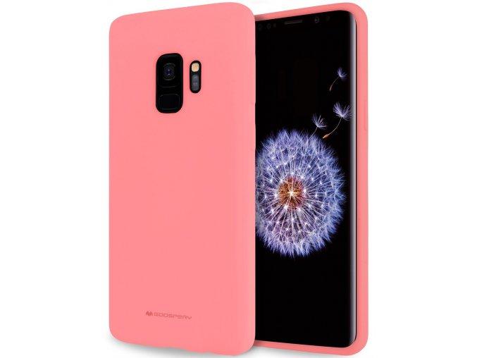 Pouzdro / kryt pro Samsung GALAXY A8 PLUS (2018) A730 - Mercury, Soft Feeling Pink