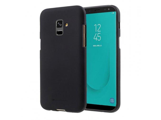 Ochranný kryt pro Samsung GALAXY J8 (2018) J810 - Mercury, Soft Feeling Black