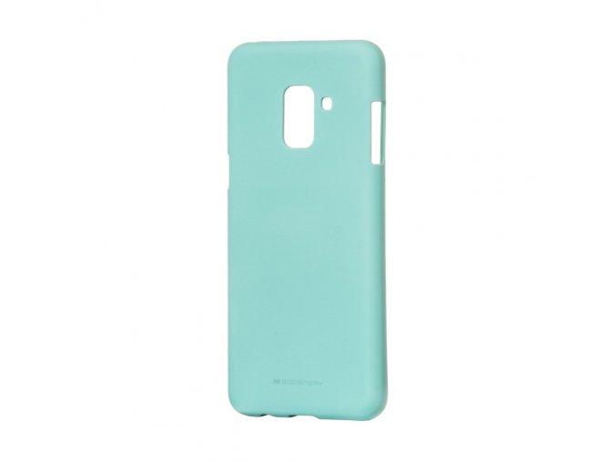 Pouzdro / kryt pro Samsung GALAXY A8 (2018) A530F - Mercury, Soft Feeling Mint