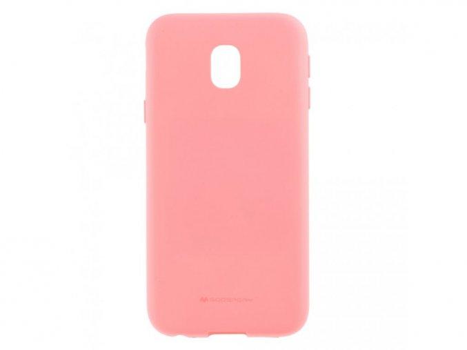 Ochranný kryt pro Samsung GALAXY J3 (2018) J337 - Mercury, Soft Feeling Pink