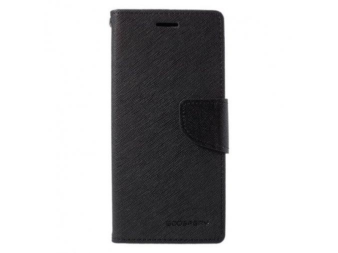 Pouzdro / kryt pro Samsung GALAXY A6 (2018) A600F - Mercury, Fancy Diary Black/Black
