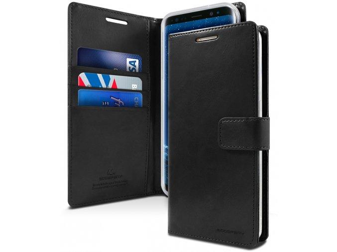 Pouzdro / kryt pro Samsung Galaxy S9 - Mercury, Bluemoon Diary Black