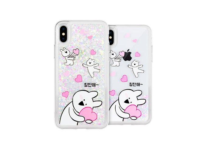 Ochranný kryt pro iPhone 7 PLUS / 8 PLUS - Mercury, Rabbit Glitter Praise