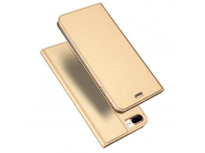 Pouzdro pro iPhone 7 Plus / 8 Plus - DuxDucis, SkinPro Gold