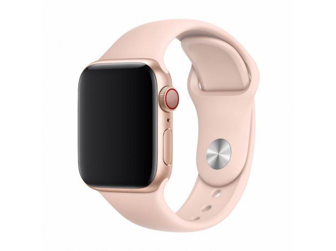 Řemínek pro Apple Watch 38mm / 40mm - Devia, Sport Pink Sand