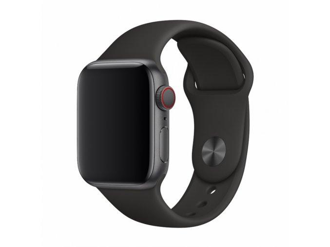 Řemínek pro Apple Watch 38mm / 40mm - Devia, Sport Black
