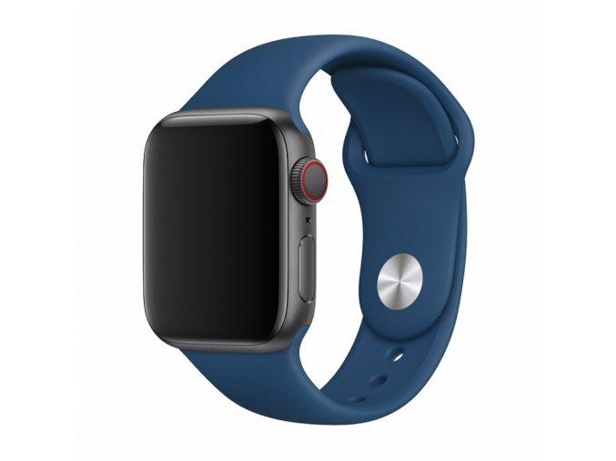 Řemínek pro Apple Watch 42mm / 44mm - Devia, Sport Blue Horizon