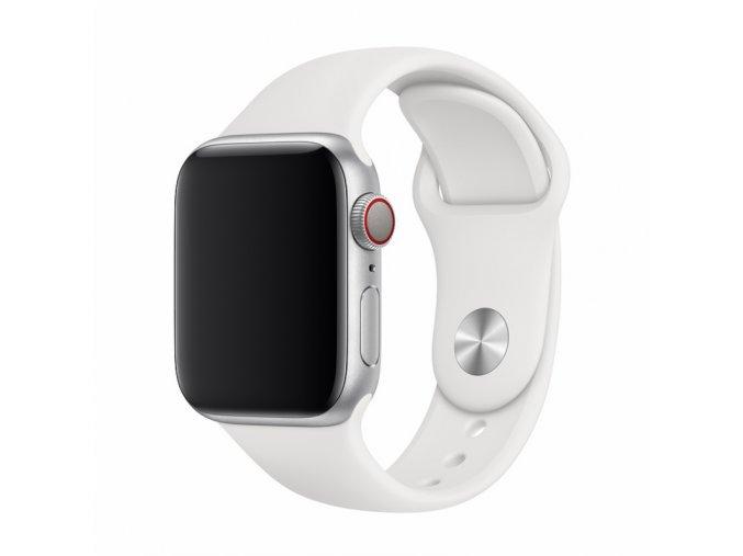 Řemínek pro Apple Watch 42mm / 44mm - Devia, Sport White