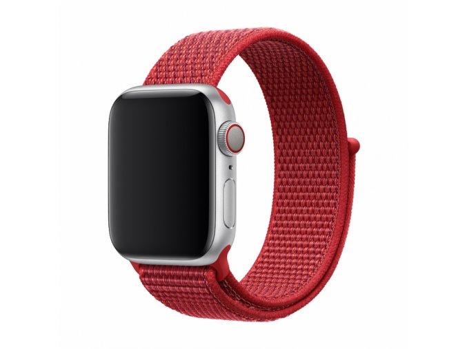 Řemínek pro Apple Watch 38mm / 40mm - Devia, Sport3 Red
