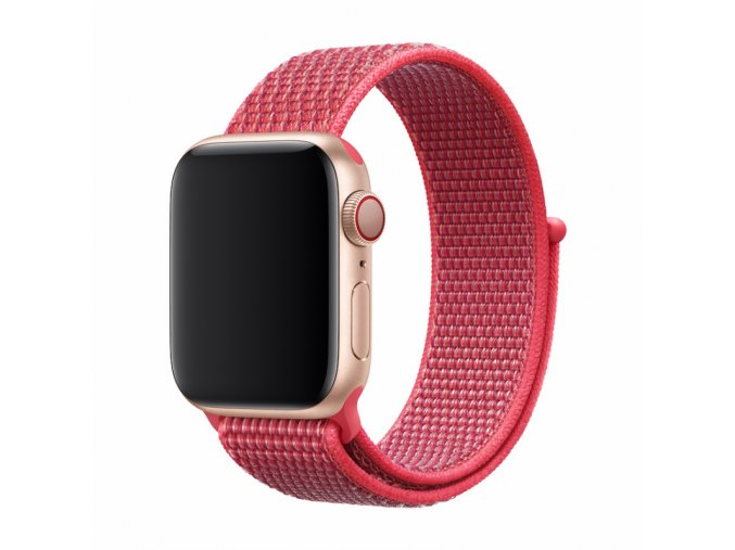 Řemínek pro Apple Watch 42mm / 44mm - Devia, Sport3 Hibiscus