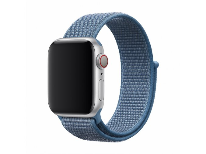 Řemínek pro Apple Watch 42mm / 44mm - Devia, Sport3 Cape Cod Blue