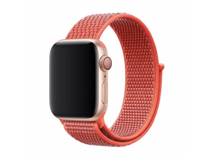 Řemínek pro Apple Watch 42mm / 44mm - Devia, Sport3 Nectarine