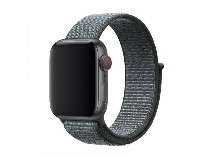Řemínek pro Apple Watch 42mm / 44mm - Devia, Sport3 Storm Gray