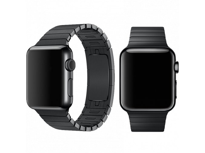 Řemínek pro Apple Watch 42mm / 44mm - Devia, LinkBracelet Black