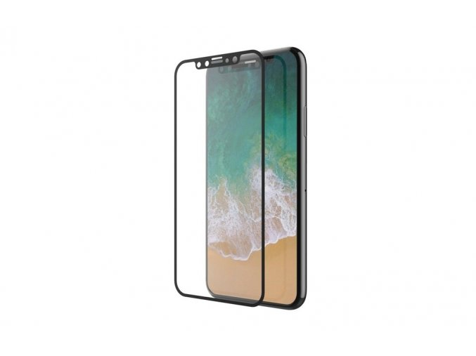 Ochranné tvrzené sklo pro iPhone XS / X - Devia, Van Full Screen