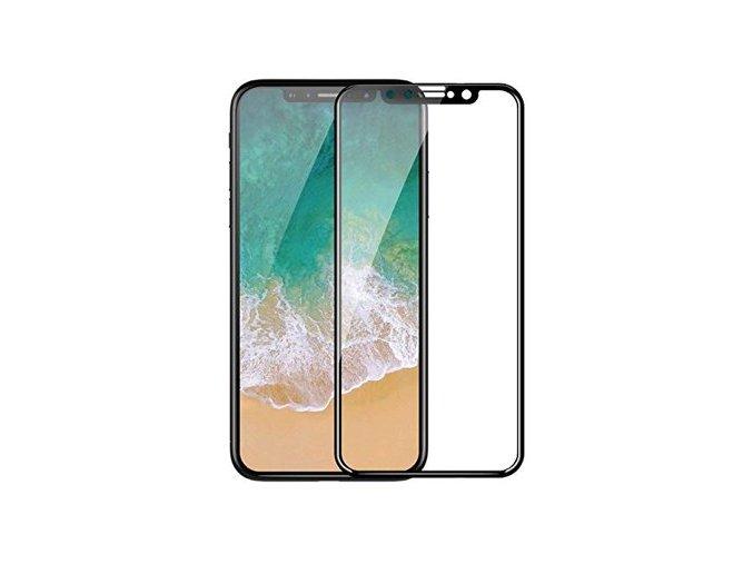 Ochranné tvrzené sklo pro iPhone XS MAX - Devia, Real 3D Black
