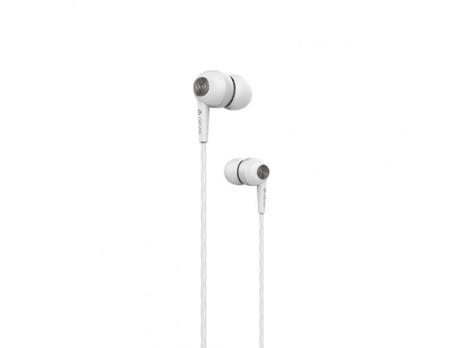 Sluchátka pro iPhone a iPad - Devia, Kintone White