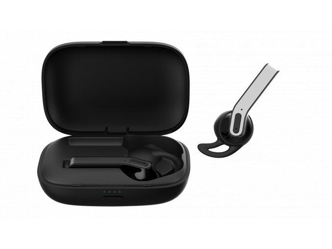 Bezdrátová sluchátka pro iPhone a iPad - Devia, Kintone TWS Black
