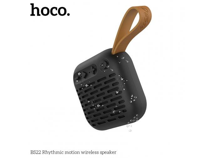 Bluetooth reproduktor - Hoco, BS22 RhythmicMotion Black
