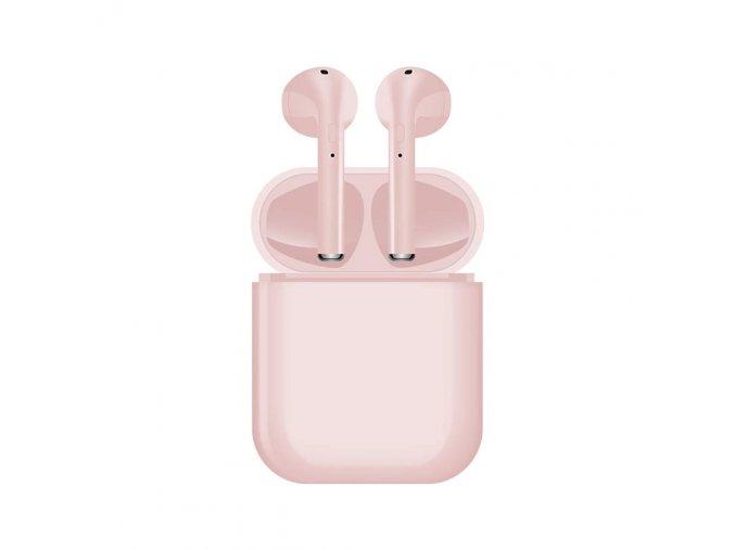 Bezdrátová sluchátka - i16 TWS Pink
