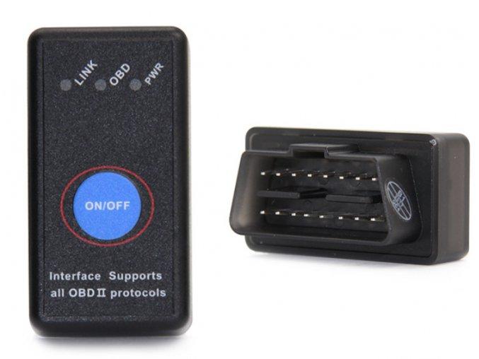 Automobilová diagnostická Bluetooth jednotka pro OBD II - ELM 327 V2.1