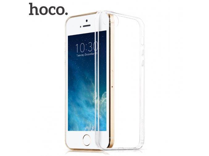 Pouzdro / kryt pro Apple iPhone 5 / 5S / SE - Hoco, Jelly Skin transparentní