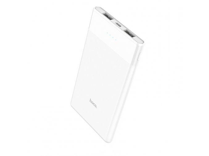 Externí baterie / powerbanka - HOCO, B35D Entourage 5000mAh White