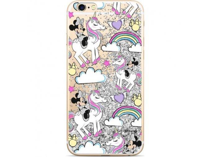 Ochranný kryt pro iPhone 7 / 8 - Disney, Minnie 037 Silver