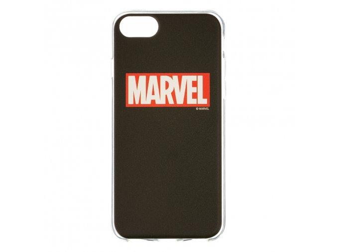 Ochranný kryt pro iPhone 8 / 7 / 6s / 6 - MARVEL, Logo 002 Black