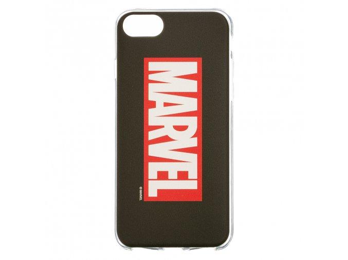 Ochranný kryt pro iPhone 8 / 7 / 6s / 6 - MARVEL, Logo 001 Black