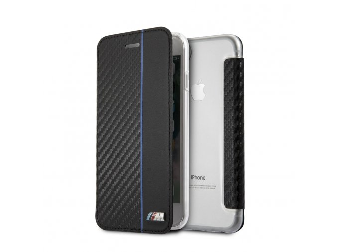 Pouzdro / kryt pro iPhone 7 / 8 - BMW, Carbon Book Navy