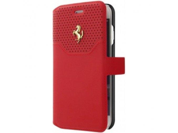Pouzdro / kryt pro iPhone 8 PLUS / 7 PLUS / 6S PLUS / 6 PLUS - Ferrari, Lusso Book Red