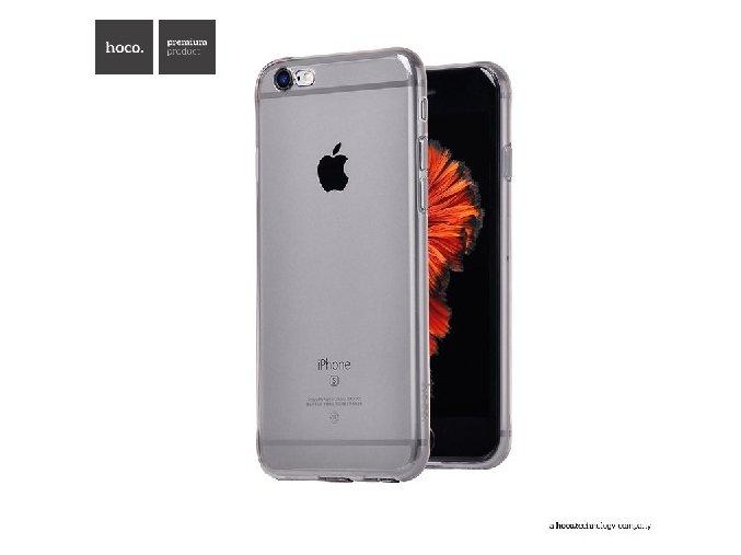 Pouzdro / kryt pro Apple iPhone 6 Plus / 6S Plus - Hoco Jelly Skin, Black