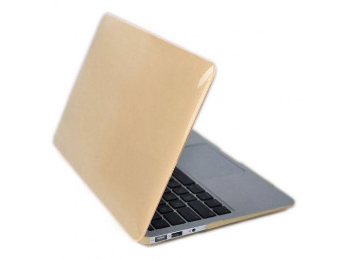 Polykarbonátové pouzdro / kryt na MacBook Air 13 - Gold