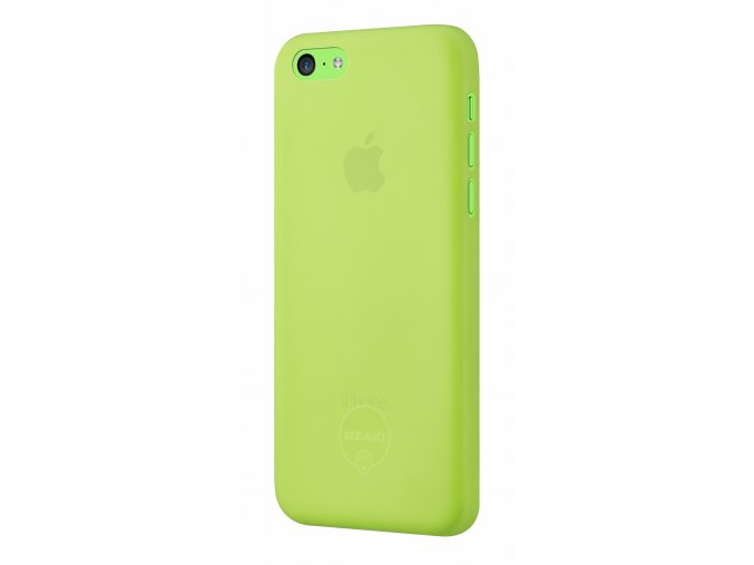 Pouzdro / kryt pro Apple iPhone 5C - Ozaki, O!Coat 0.3 Jelly Green