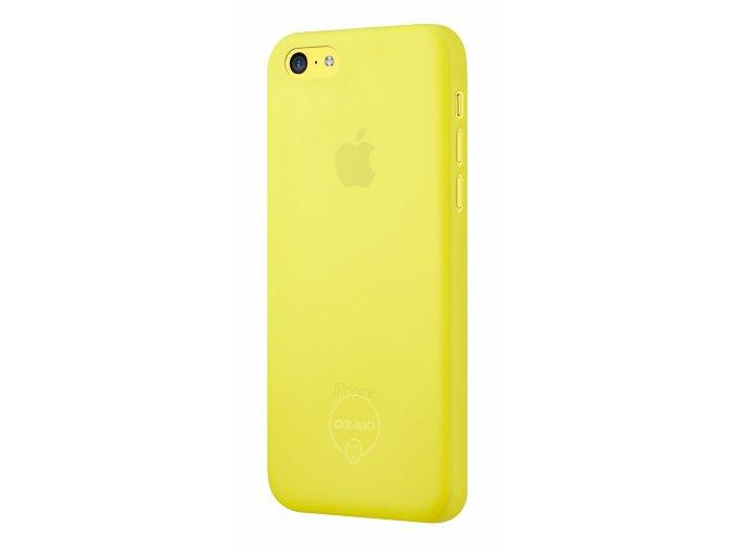 Pouzdro / kryt pro Apple iPhone 5C - Ozaki, O!Coat 0.3 Jelly Yellow