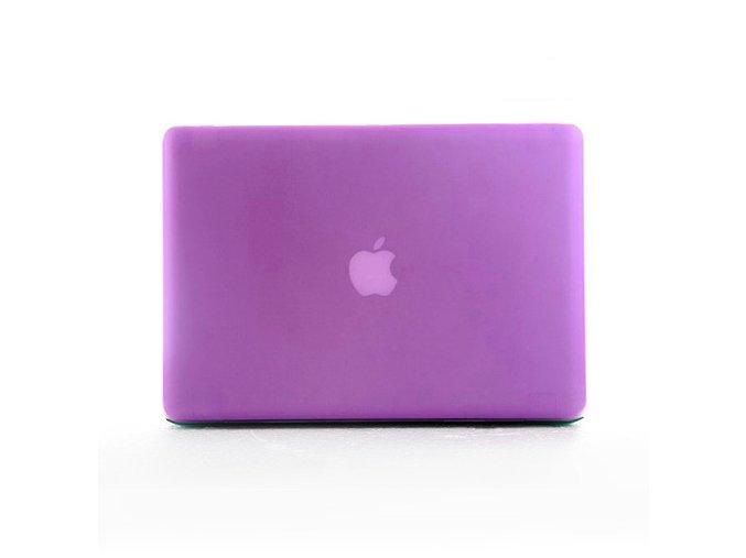 Polykarbonátové pouzdro / kryt na MacBook Pro Retina 13 - matný fialový