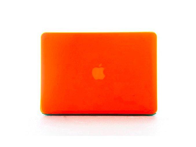 Polykarbonátové pouzdro / kryt na MacBook Pro Retina 13 - matný oranžový